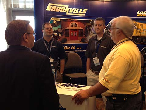 BROOKVILLE Exhibits at ASLRRA Connections 2014