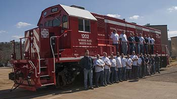CCT BL12CG Locomotive Design-Build Team