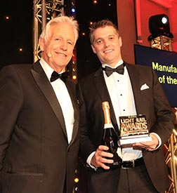BROOKVILLE receives Manufacturer of the Year Award in London